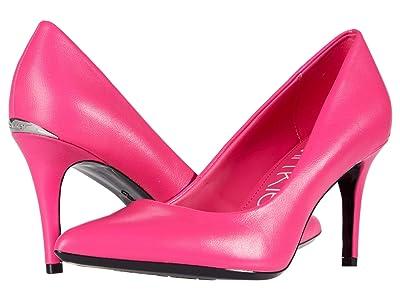 Calvin Klein Gayle Nappa (Scuba Pink) High Heels