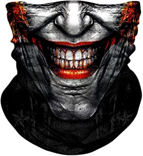 joker skull mask