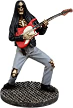Ebros Gift Day of The Dead Skeleton Hell Rock Band Concert Figurine Underworld Entertainment Collectible (Electric Guitarist)