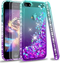 LeYi Compatible with iPhone SE 2016 Case (Not fit SE 2020!!), iPhone 5S Case, iPhone 5..