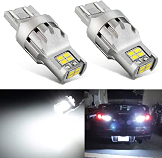 JDM ASTAR 2800 Lumens Extremely Bright 1:1 Design 3020 Chips 7440 7441 7443 7444 992 LED Bulbs, Xenon White
