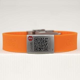 e49593cfc03f Amazon.es: pulseras de silicona - Identificativas / Pulseras: Joyería