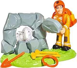 Fireman Sam - Save Wollie Action Figure Playset Character Set Ages 3+