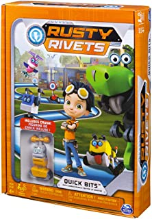 Rusty Rivets – Quick Bits Path Game Board Game with Crush Figure