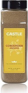 Castle Foods | GROUND CORIANDER, 14 oz Premium Restaurant Quality
