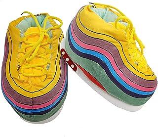 COZY KICKZ Chaussons Sneakers | Pantoufles Sneakers Unisexe | Confortable et Stylé | Parfait pour la maison | Basket taill...
