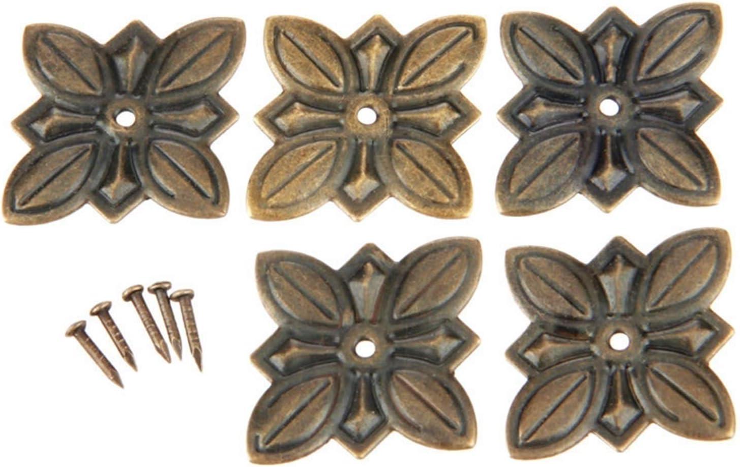 QJKW Thumbtack 50Pcs New Shipping Free Bronze Max 56% OFF Interior Nails Door Sofa Jewelry Box