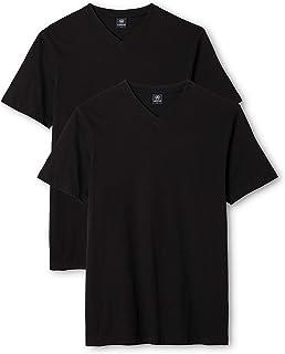 LERROS Herren V-Ausschnitt Doppelpack T-Shirt