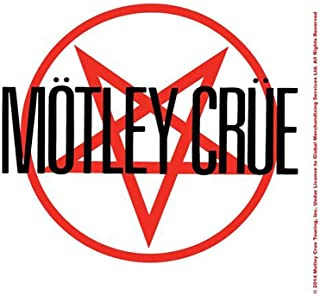 Motley Crue Coaster Shout At The Devil Band Logo Official
