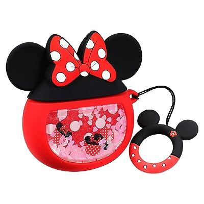 Joyleop Quicksand Minnie Case Compatible with A...