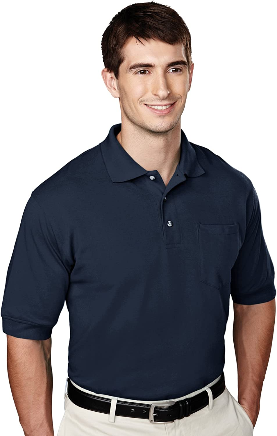 Big & Tall Polo Shirts with Pockets, Hard to find Sizes 5X 6X 7X 8 X 10 in 7 Colors