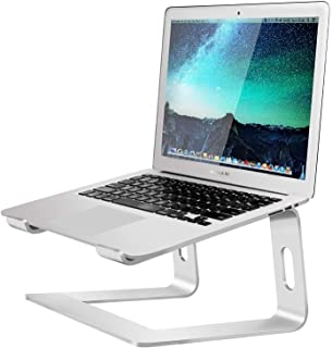 SOUNDANCE Laptop Stand, Aluminum Computer Riser, Ergonomic Laptops Elevator for Desk, Metal Holder Compatible with 10 to 1...