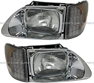 Headlight with LED CORNER LAMP - Driver & Passenger Side (Fit: International 9200 9400 5900)