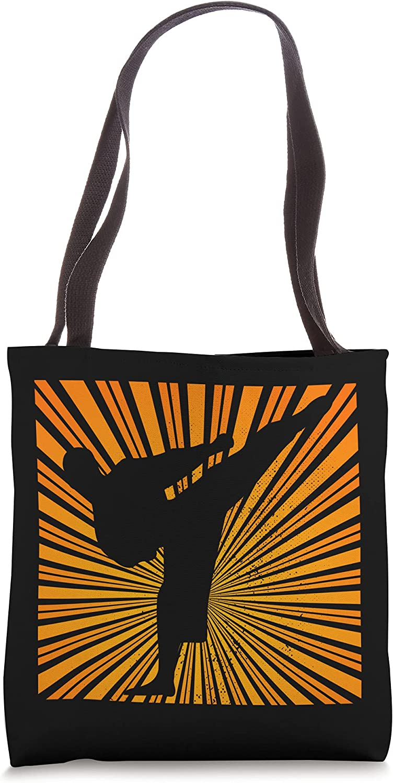 Martial Artist Karate Topics on TV Gifts Taekwondo Retro Bag Sports Super beauty product restock quality top! Sun Tote