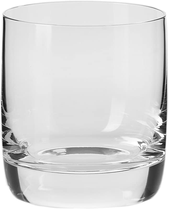 Household Essentials KROSNO Handmade Cooper Short Tumblers Set Of 4 10 Oz Clear