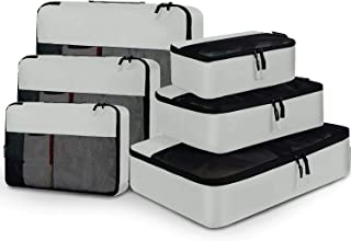 6 Set Packing Cubes Luggage Packing Organizers for Travel Accessories
