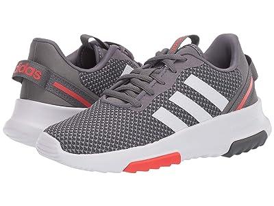 adidas Kids Racer TR 2.0 (Little Kid/Big Kid) (Grey Four/Footwear White/Grey Three) Boys Shoes
