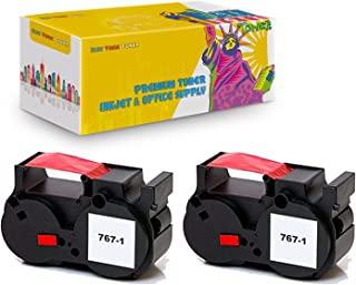 New York TonerTM New Compatible 2 Pack 767-1 High Yield Inkjet For Pitney Bowes - PostPerfect B700 . -- Red