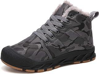Pyjacos Botas de Nieve niño Zapatos niña Invierno Botas Nieve