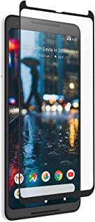 ZAGG InvisibleShield Glass Curved Screen Protector - Curved for The Google Pixel 2 XL -Impact & Scratch Protection - Smudge Resistant - Clear
