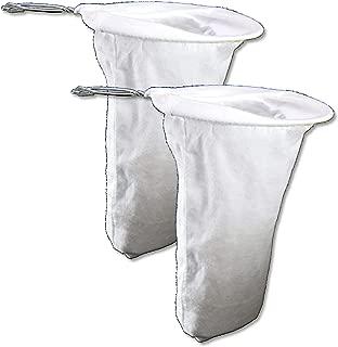 Colador de Cafe Pour Over Coffee Filters Cloth Coffee Filter Reusable Coffee Sock Filter 2 Pack