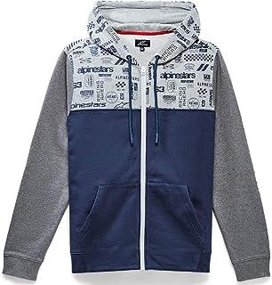 Alpinestars Unisex-Adult Perpetuity Hoodie-Navy (2X) (Multi, One Size)