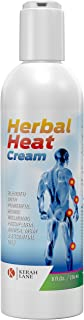 Kerah Lane Herbal Pain Relief Therapy Heat Cream (8 oz) Quick Absorbing Formula with Arnica Blend - Helps Alleviates Arthritis, Muscle and Joint Pain