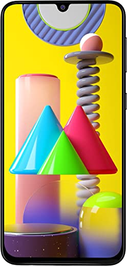 Samsung Galaxy M31 (Space Black, 8GB RAM, 128GB Storage) 6 Months Free Screen Replacement for Prime