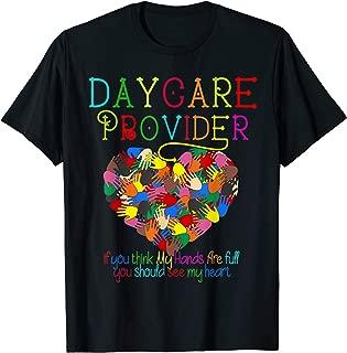 Daycare Provider tshirt Appreciation Gift Childcare Teacher T-Shirt