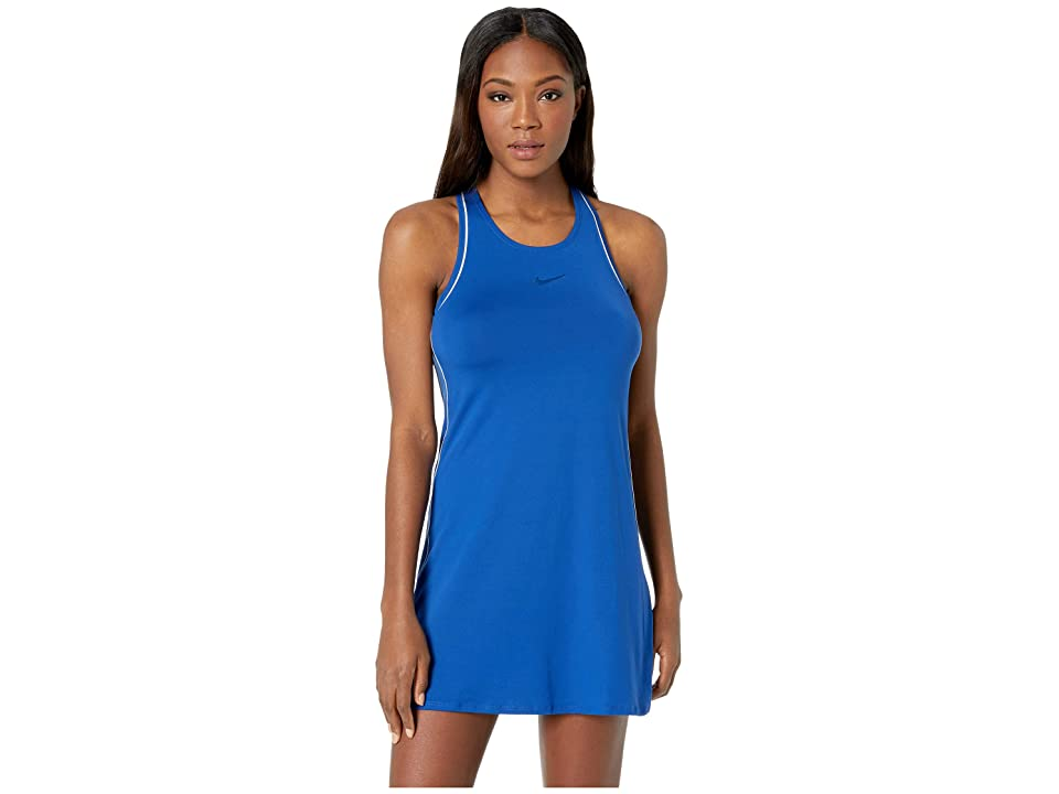 Nike Court Dry Dress (Indigo Force/White/White/Indigo Force) Women