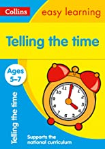 Telling the Time Ages 5-7: Prepare for school with easy home