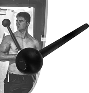 Steel Macebell for Full Body Workouts, Power Fitness, Perfectly Develop Muscles, Joints, and Core Strength,6kg