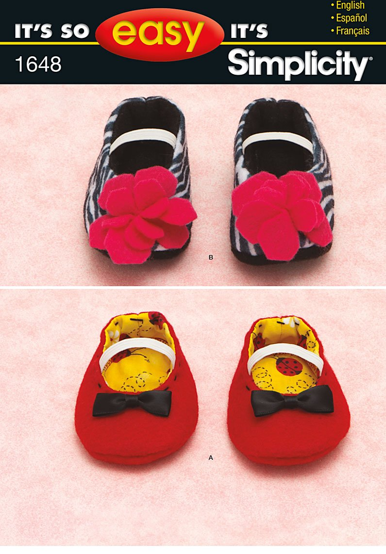Baby Slipper Patterns To Sew