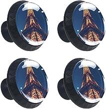 4 stks Kabinet Knoppen Lade Dressoir Handvatten Eiffeltoren Parijs voor Kamer, Keuken, Kantoor en Badkamer