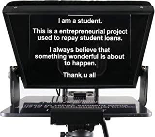 Teleprompters for Smart Phones and Tablets, Making Video Programs, Live Streaming, Professional Tool to Prompt The Blogge...