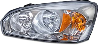 HEADLIGHTSDEPOT Compatible with Chevy Malibu Headlight OE Style Replacement Headlamp Driver Side New