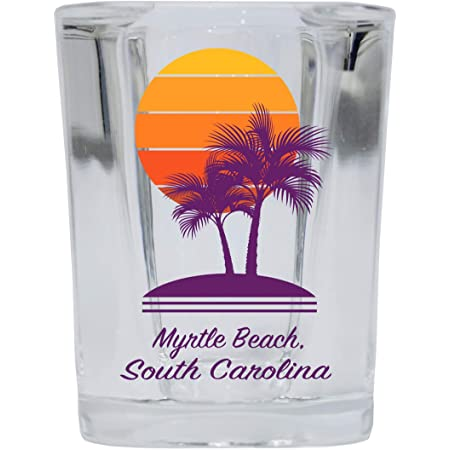 MYRTLE BEACH SOUTH CAROLINA GREAT AMERICAN CITIES COLLECTION SHOT GLASS