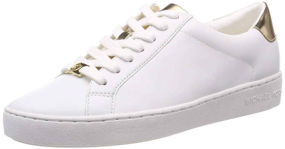 液化する絡み合い経済的MICHAEL Michael Kors Womens irving Leather Fashion Sneaker