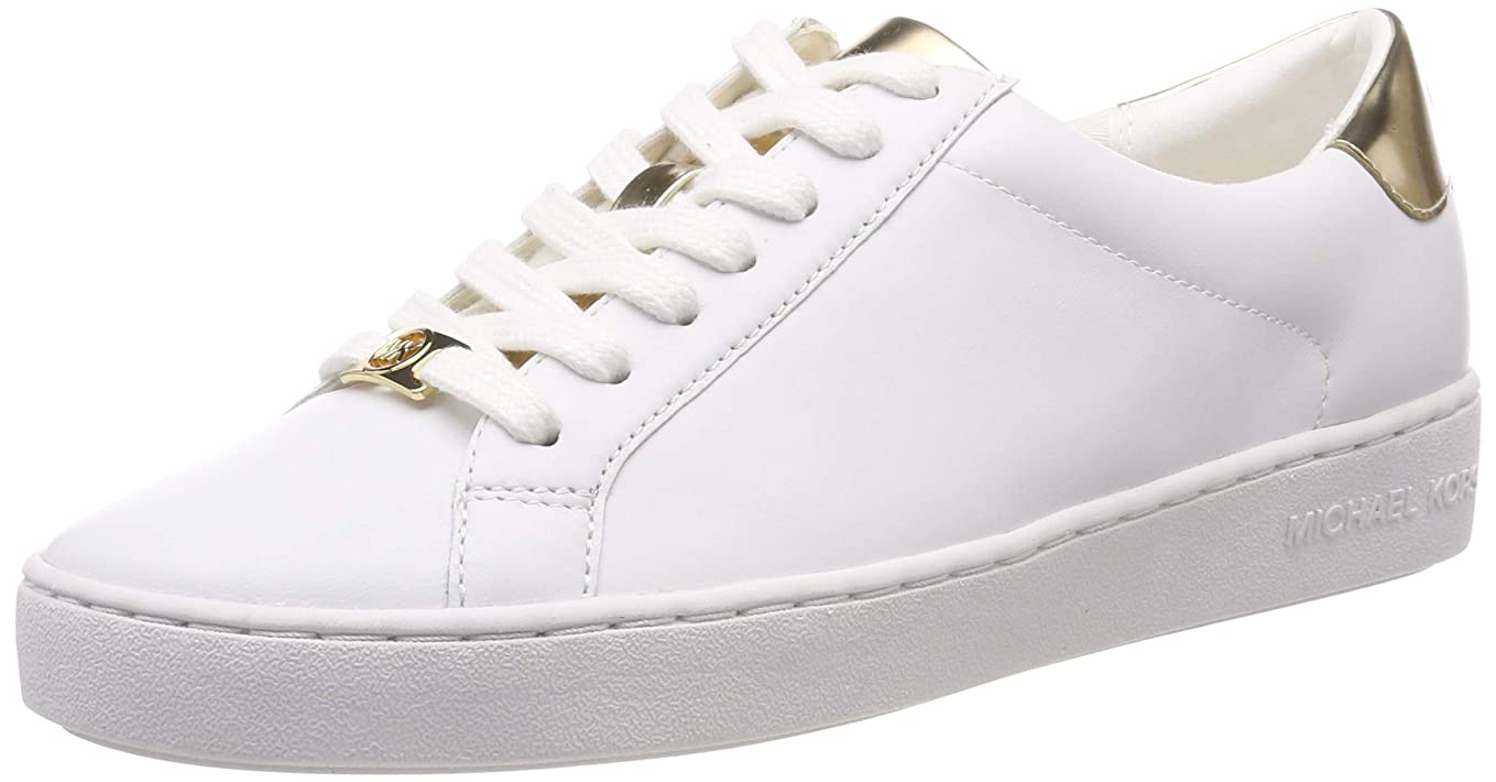繰り返す援助するピアノMICHAEL Michael Kors Womens irving Leather Fashion Sneaker