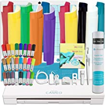 Silhouette Cameo 3 Starter Bundle with T-Shirt Starter Kit, Vinyl, and Tools