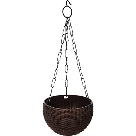 Gardens Need 100% Virgin Plastic Euro Basket-6"
