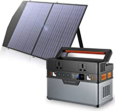 ALLPOWERS Draagbare generator 606 Wh / 164000 mAh zonne-generator (zonnepaneel optioneel) met opvouwbaar 1 x 100 W zonnepa...
