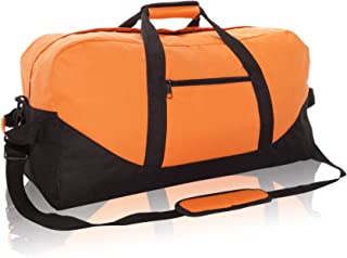 "DALIX 25"" Big Adventure Large Gym Sports Duffle Bag (Black Grey Navy Blue Red Camo)"