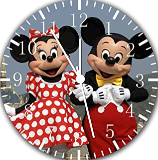 Mickey Mouse Minnie Mouse Wall Clock Frameless E116 Nice for Gift or Wall Decor 10