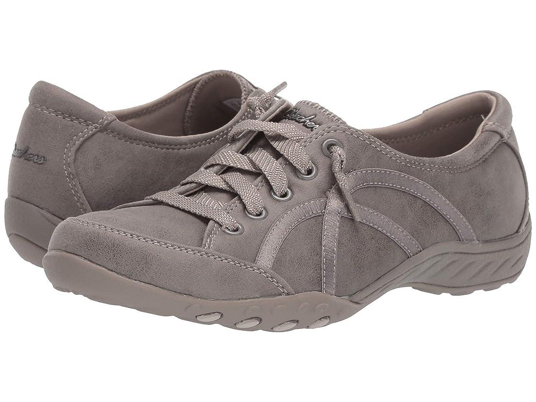契約縁石トラップレディーススニーカー?ウォーキングシューズ?靴 Breathe-Easy - Well Read Taupe 6.5 (23.5cm) B [並行輸入品]
