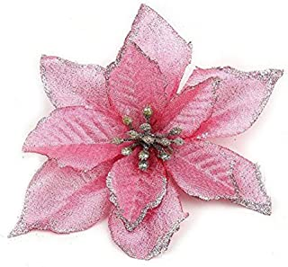 gold and pink christmas decor