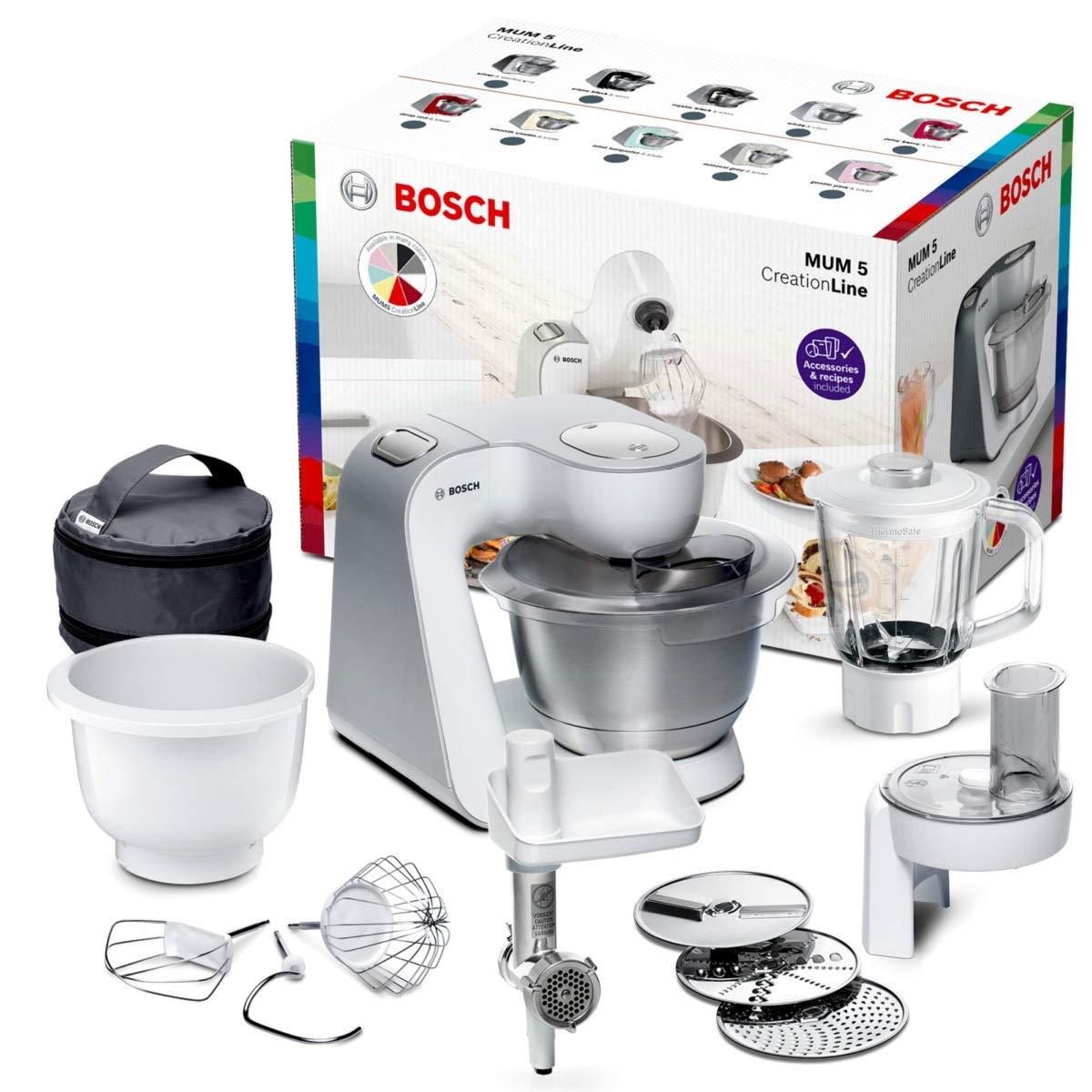 Bosch mum5824 C Creatable litio Line Universal – Robot de cocina, 1000, plástico, 2.7 kilos, color blanco: Amazon.es: Hogar