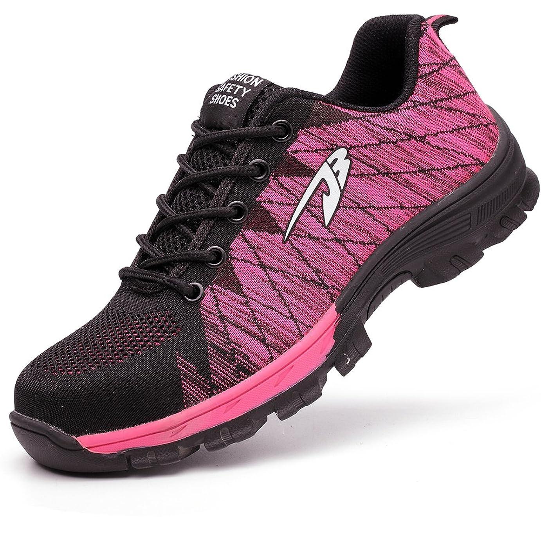 精巧な説教するなめる安全靴 作業靴 メンズ レディーススニーカー 登山靴 防滑 通気 耐磨耗 衝撃吸収 四季通用