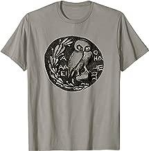 Owl of Athena Greek Mythology Athena Goddess philosophy gift T-Shirt