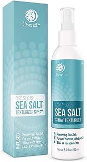 Hair Spray Sea Salt - Texturizing Sea Salt Water Hair Spray for Fine, Oily, Straight, Curly, Wavy and Thick Hair - Volumiz...
